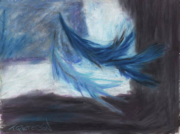 Abstract Art Print featuring the painting I Dreamt Of Flight by Todd Peterson