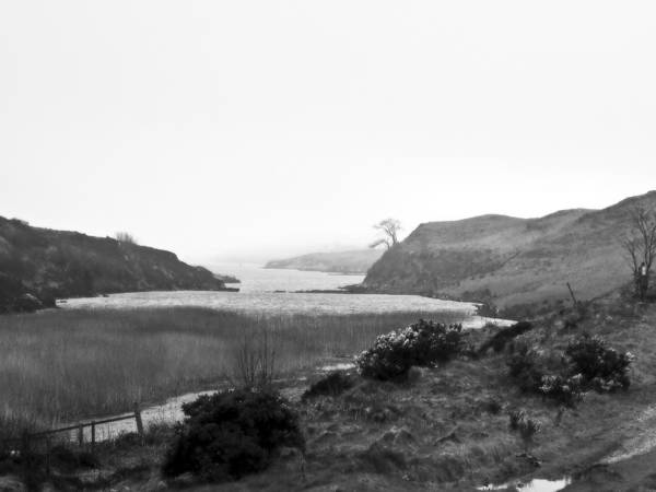 Landscape Art Print featuring the photograph Loch Dunvegan by Dan Andersson