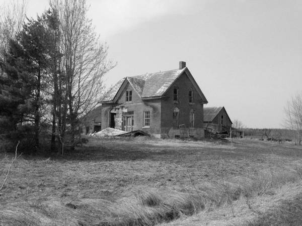 Abandoned Farmhouses Art Print featuring the photograph She Is Gone by Richard Stanford