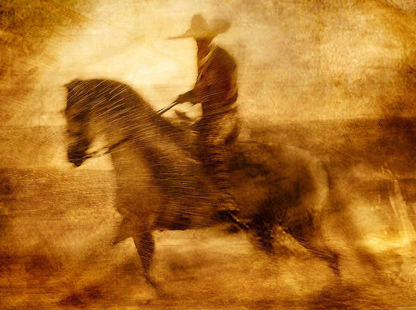 Beach Art Print featuring the photograph Spirit Of The Charro by Nick Sokoloff