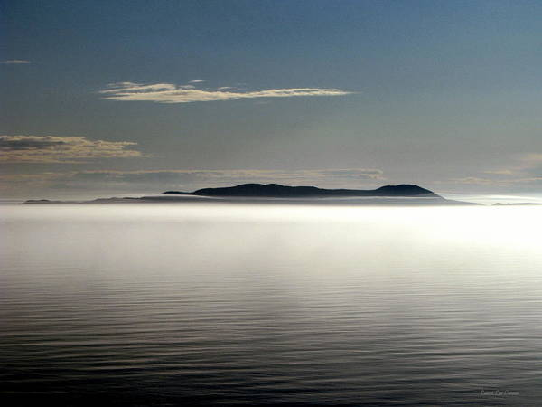 Canada Art Print featuring the photograph The Mists Of Pic Island by Laura Wergin Comeau