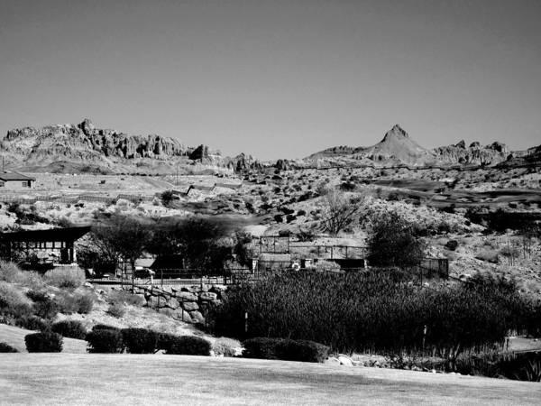 Arizona Art Print featuring the photograph Western Arizona Mountains by Lessandra Grimley