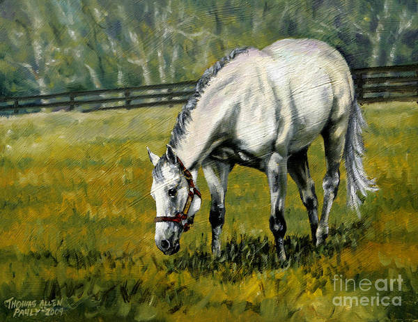 Derby Art Print featuring the painting Maria's Mon by Thomas Allen Pauly