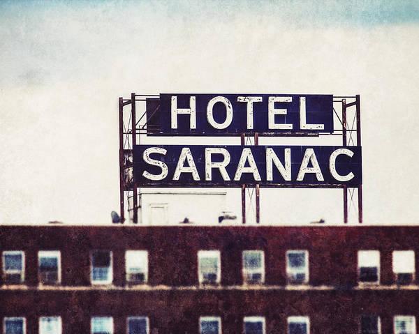 Hotel Saranac - Saranac Lake New York by Lisa Russo