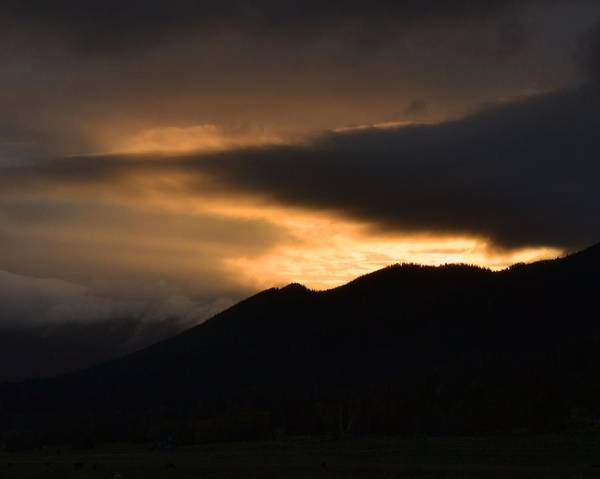 Sunset Art Print featuring the photograph Fire On The Mountain by Kevin Bone