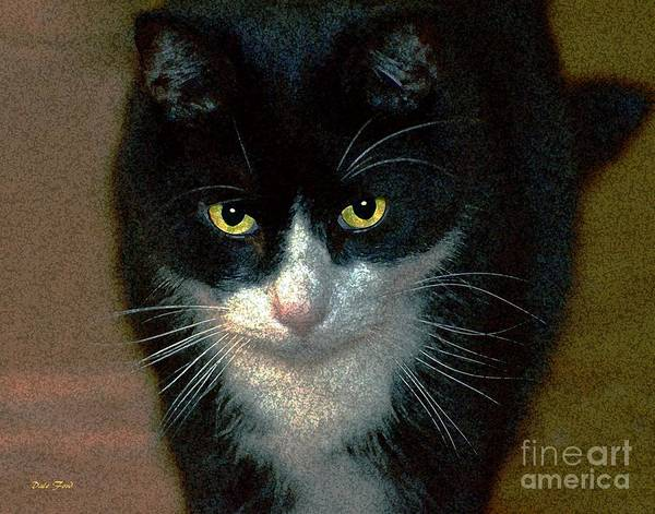 Cats Art Print featuring the digital art Max by Dale  Ford