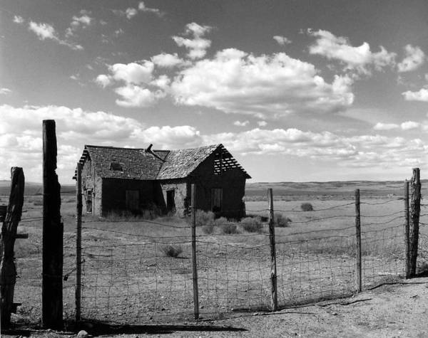 Old West Art Print featuring the photograph Adobe Homestead by Allan McConnell