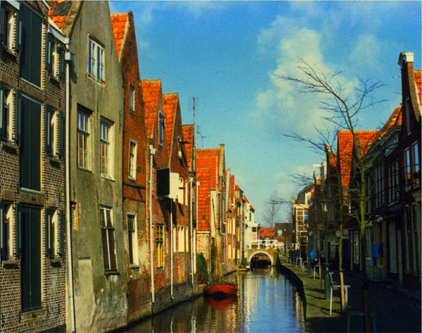 Amsterdam Art Print featuring the photograph Amsterdam Canal by Jennifer Ott