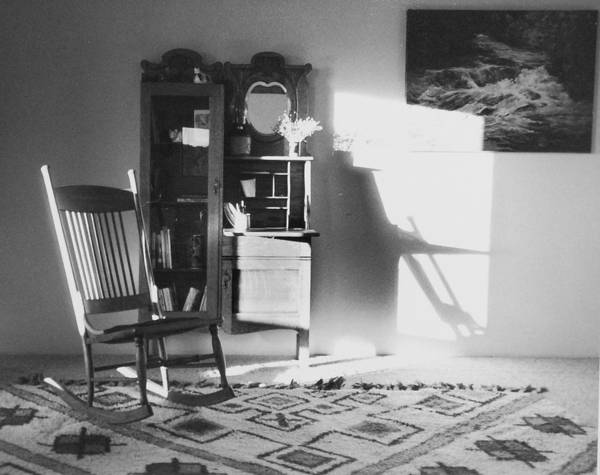 House Art Print featuring the photograph Shadow Time by Allan McConnell