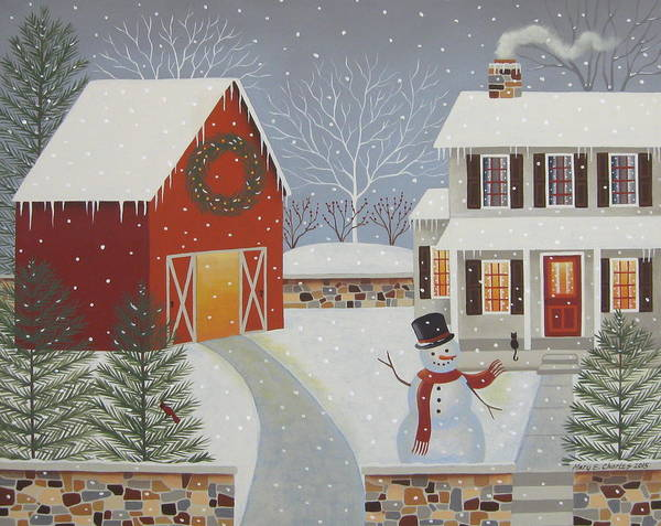 Winter Welcome by Mary Charles