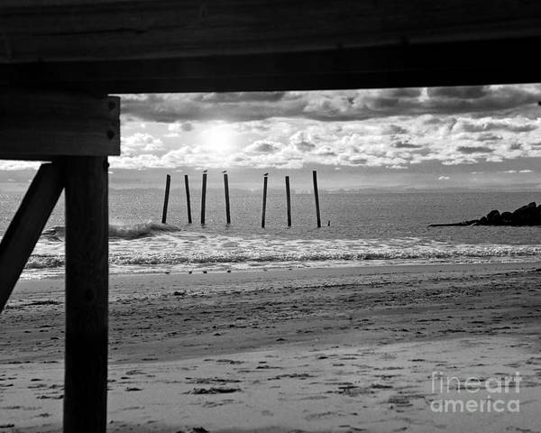 Lanscape Art Print featuring the photograph 59th St. Pier by Mark Gold