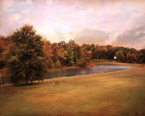 Autumn Art Print featuring the photograph Friendship Pond by Jai Johnson