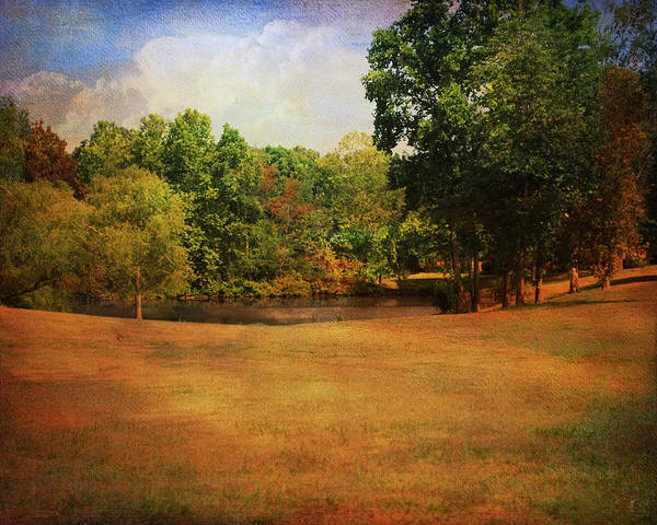 Autumn Art Print featuring the photograph Timbers Pond by Jai Johnson