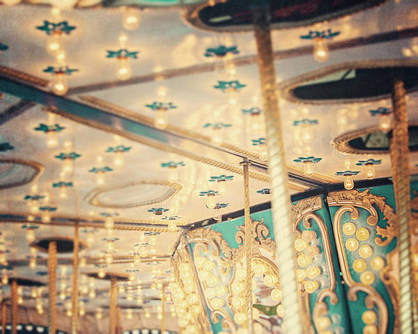 Carousel Art Print featuring the photograph Look Up by Lisa Russo