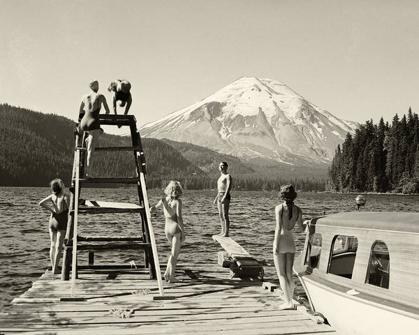 Art Print featuring the photograph Spirit Lake by Ray Atkinsen