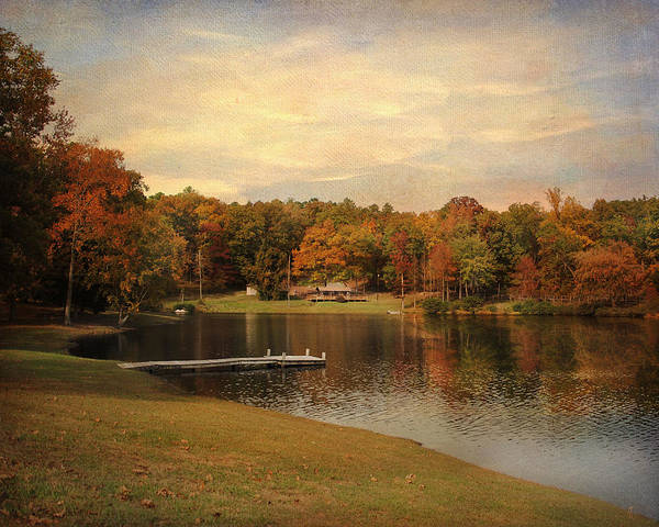Autumn Art Print featuring the photograph Tranquility by Jai Johnson