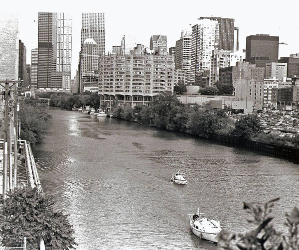 Landscape Art Print featuring the photograph Chicago River by Eric Belford
