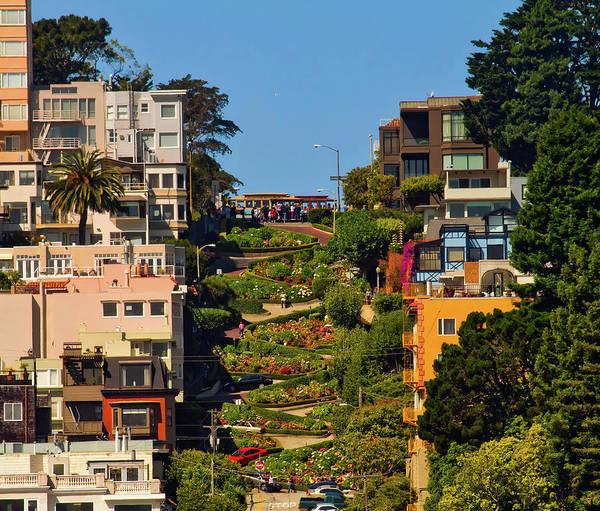 Lombard Street - San Francisco by Mountain Dreams