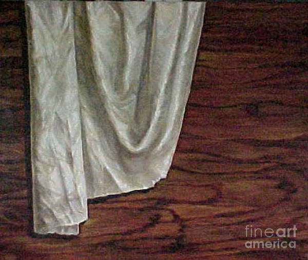 Painting Art Print featuring the painting The Cloth by Jeannette Ulrich