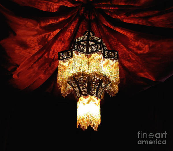 Light Art Print featuring the photograph Moroccan Glow by Slade Roberts