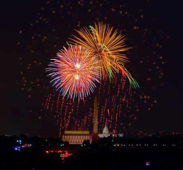 4th Of July Art Print featuring the photograph Fourth Of July by David Hahn