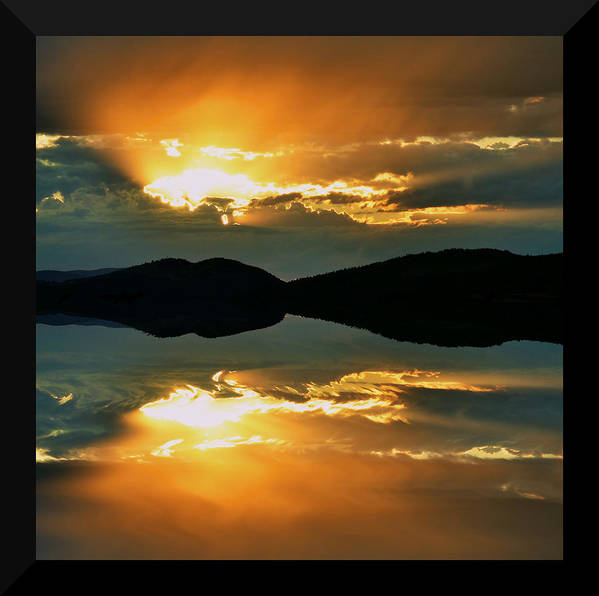 Sunset Art Print featuring the photograph Dreaming by Kevin Bone