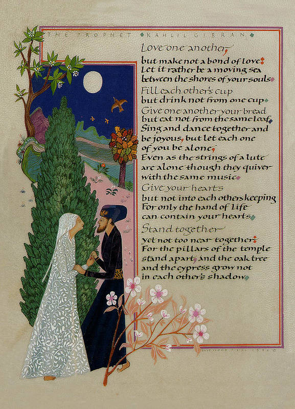 The Prophet - Kahlil Gibran  by Jan Wood