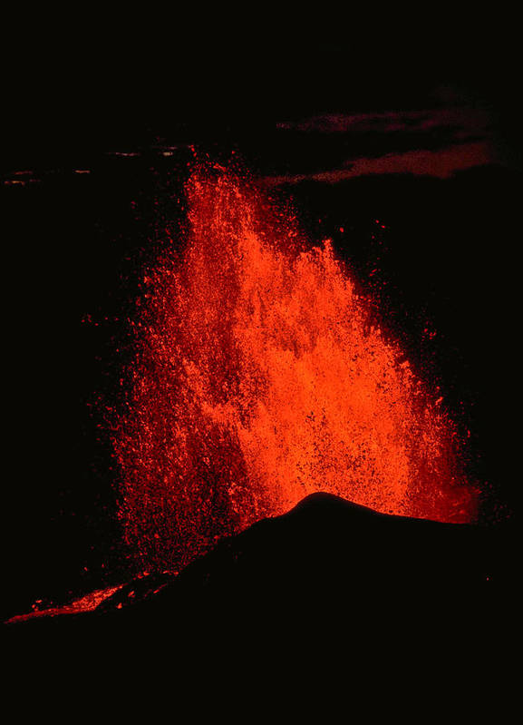 Eruption Art Print featuring the photograph Eruption by Joe Carini