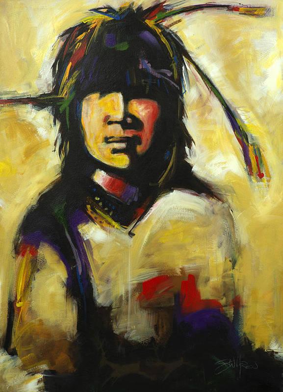 Young Warrior by Steve Willgren
