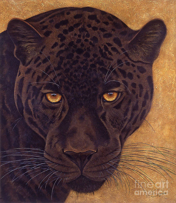 Lawrence Supino Art Print featuring the painting Jag by Lawrence Supino