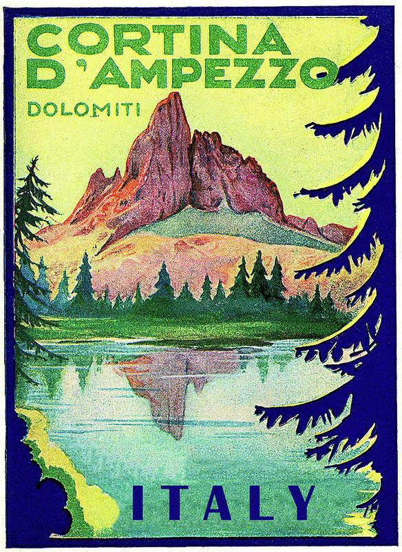 Cortina d'Ampezzo, mountain peek, Italy by Long Shot