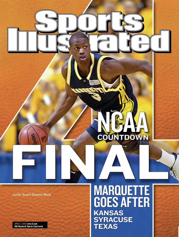 Hubert H. Humphrey Metrodome Art Print featuring the photograph 2003 Ncaa Final Four Countdown Sports Illustrated Cover by Sports Illustrated