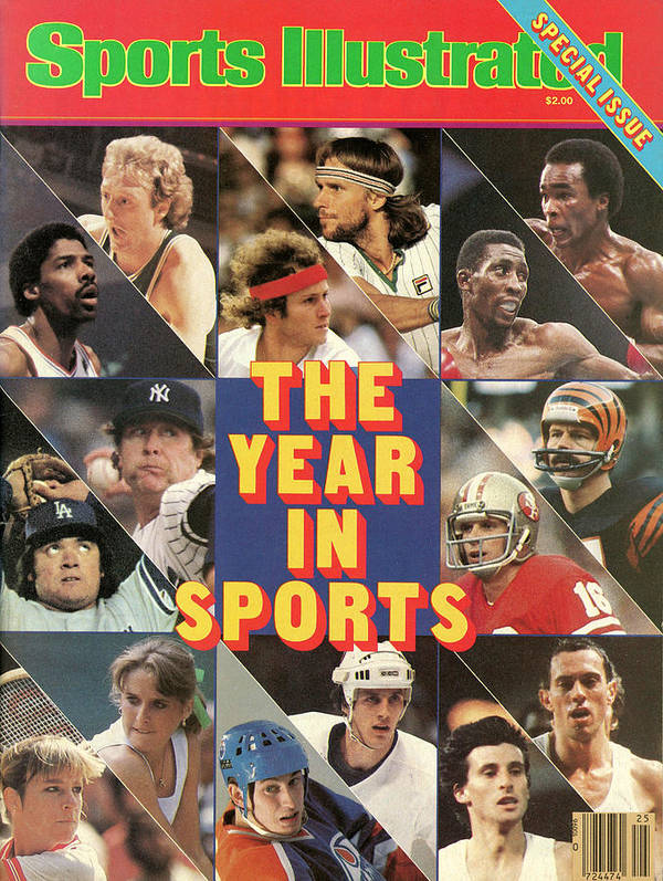 Playoffs Art Print featuring the photograph 1981 Year In Sports Issue Sports Illustrated Cover by Sports Illustrated