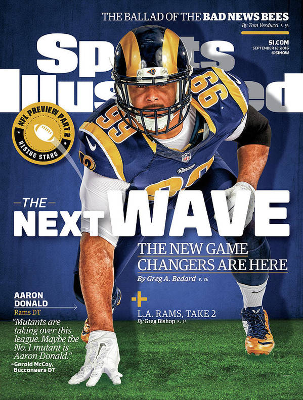 Magazine Cover Art Print featuring the photograph The Next Wave The New Game Changers Are Here Sports Illustrated Cover by Sports Illustrated