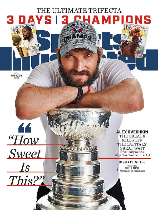 Magazine Cover Art Print featuring the photograph The Ultimate Trifecta 3 Days, 3 Champions Sports Illustrated Cover by Sports Illustrated