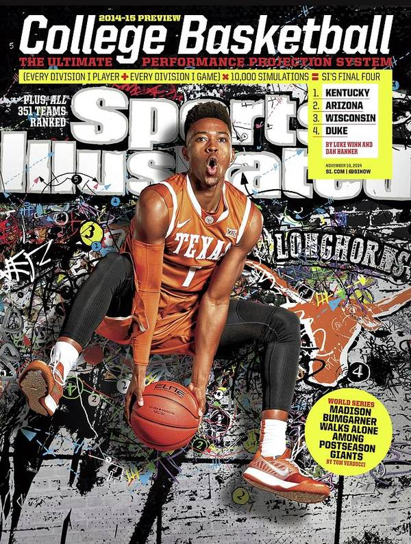 Point Guard Art Print featuring the photograph 2014-15 College Basketball Preview Issue Sports Illustrated Cover by Sports Illustrated