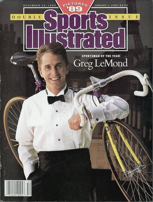 Magazine Cover Art Print featuring the photograph Adr Agrigel Greg Lemond, 1989 Sportsman Of The Year Sports Illustrated Cover by Sports Illustrated