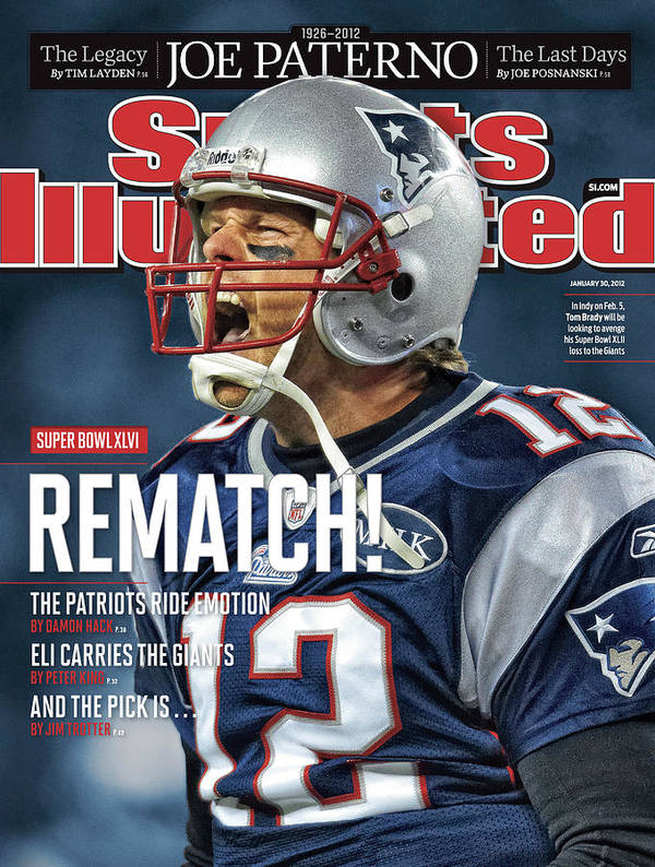 Magazine Cover Art Print featuring the photograph Afc Championship - Baltimore Ravens V New England Patriots Sports Illustrated Cover by Sports Illustrated