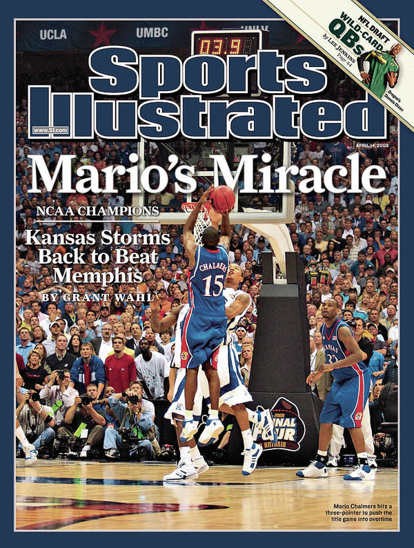 Magazine Cover Art Print featuring the photograph April 14, 2008 Sports Illustrate Sports Illustrated Cover by Sports Illustrated