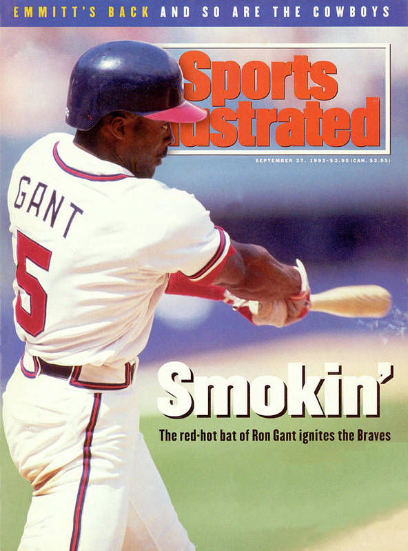 Atlanta Art Print featuring the photograph Atlanta Braves Ron Gant... Sports Illustrated Cover by Sports Illustrated