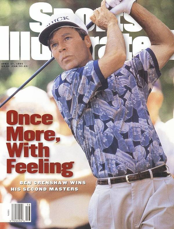 Magazine Cover Art Print featuring the photograph Ben Crenshaw, 1995 Masters Sports Illustrated Cover by Sports Illustrated