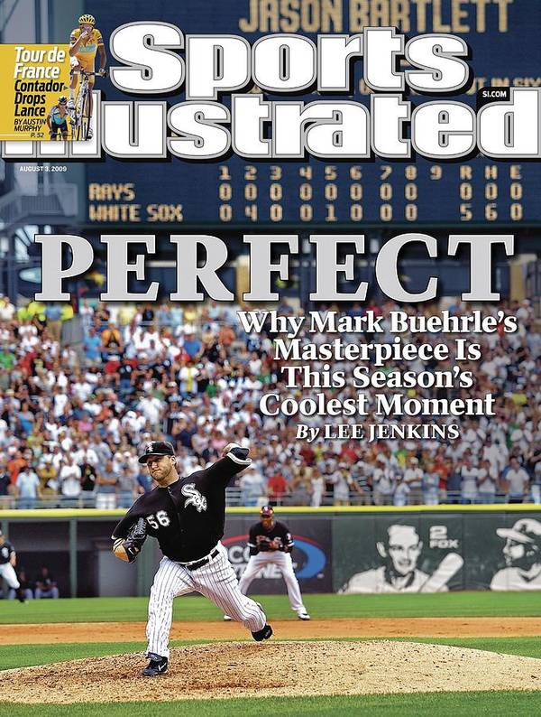 Magazine Cover Art Print featuring the photograph Chicago White Sox Mark Buehrle... Sports Illustrated Cover by Sports Illustrated