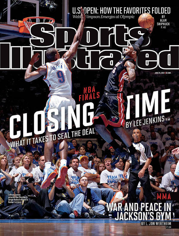 Playoffs Art Print featuring the photograph Closing Time What It Takes To Seal The Deal Sports Illustrated Cover by Sports Illustrated
