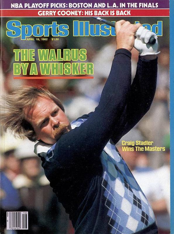 Magazine Cover Art Print featuring the photograph Craig Stadler, 1982 Masters Sports Illustrated Cover by Sports Illustrated
