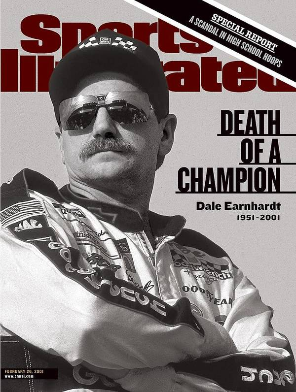 Atlanta Art Print featuring the photograph Dale Earnhardt, 1993 Hooters 500 Sports Illustrated Cover by Sports Illustrated