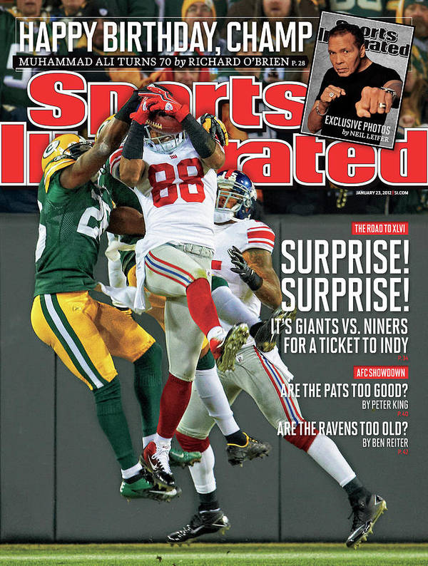 Green Bay Art Print featuring the photograph Divisional Playoffs - New York Giants V Green Bay Packers Sports Illustrated Cover by Sports Illustrated