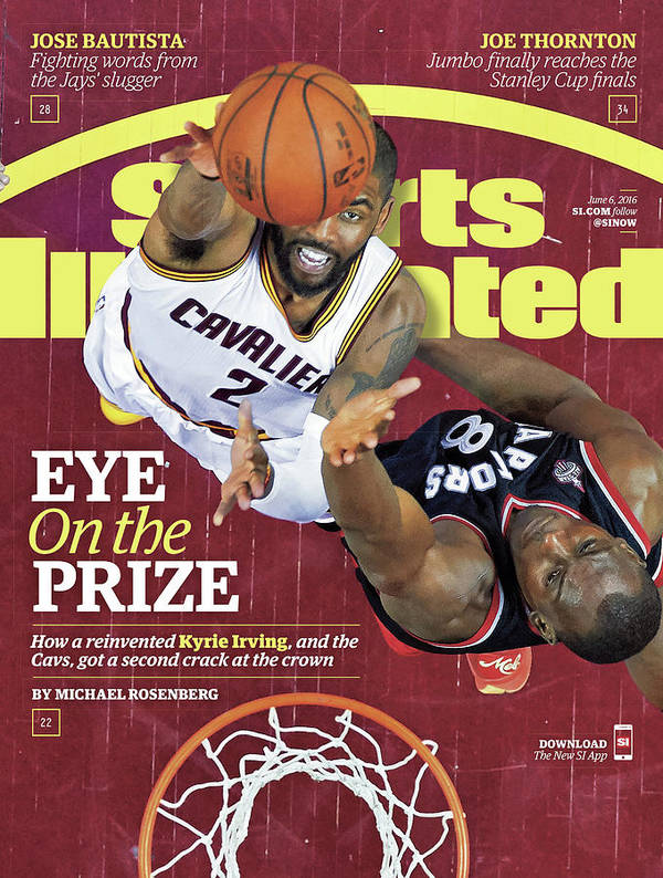 Playoffs Art Print featuring the photograph Eye On The Prize How A Reinvented Kyrie Irving, And The Sports Illustrated Cover by Sports Illustrated