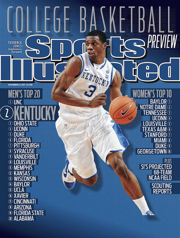 Magazine Cover Art Print featuring the photograph Florida V Kentucky Sports Illustrated Cover by Sports Illustrated