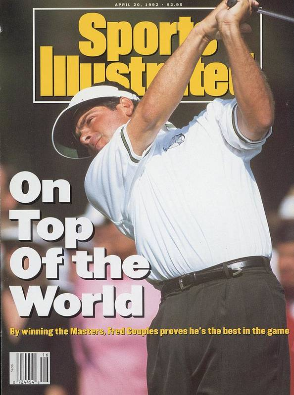 Magazine Cover Art Print featuring the photograph Fred Couples, 1992 Masters Sports Illustrated Cover by Sports Illustrated