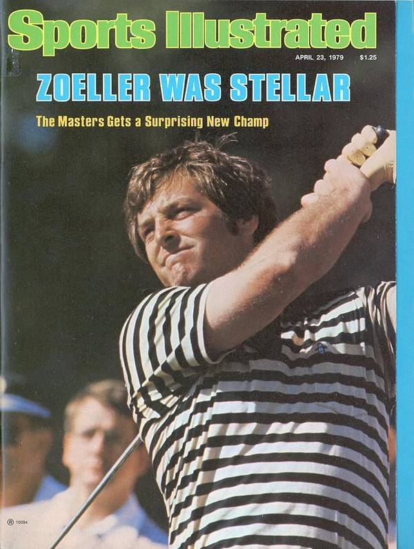 Magazine Cover Art Print featuring the photograph Fuzzy Zoeller, 1979 Masters Sports Illustrated Cover by Sports Illustrated